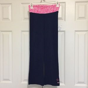 VINEYARD VINES Legging Small (7-8) Yoga Pants Blue